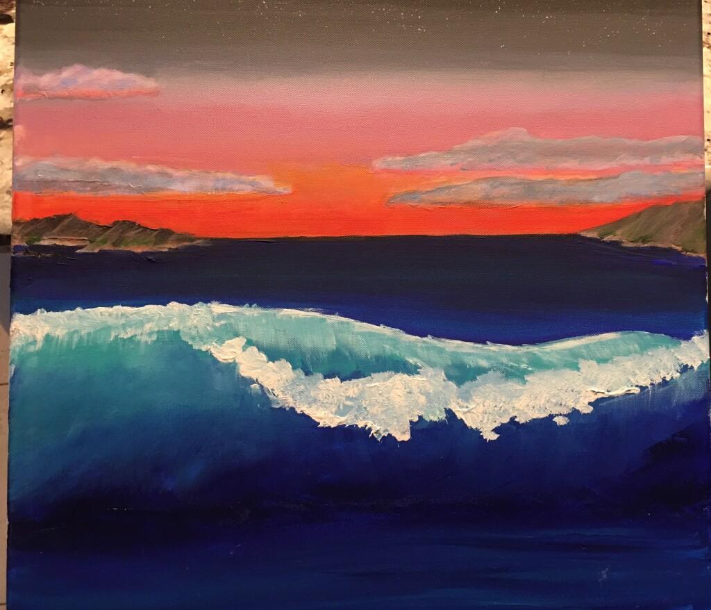painting_wave_scene - 1