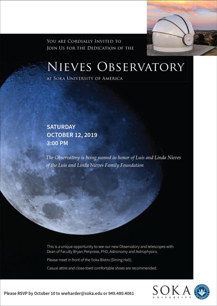 Nieves.observatory.dedication